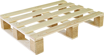 New 600x800mm 5-splint pallet, 3-base design